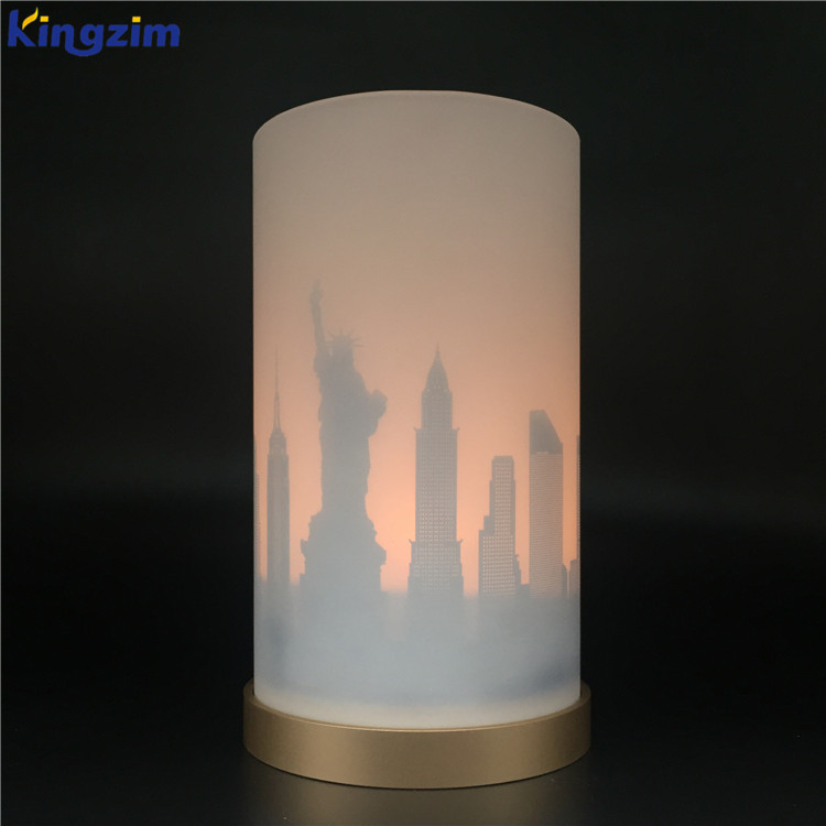 Luxury wedding table centerpieces glass cylinder votive candle holders