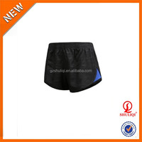 Quick dry plain cotton compression shorts/low price women sexy booty shorts wholesale China