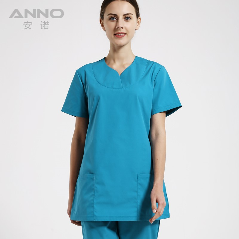 2016 new coming Fashionable scrubs suit designs medical uniform