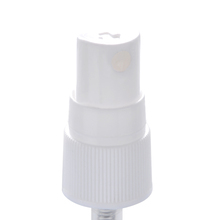 Ribbed neck finish 18mm cosmetic facial oil mist spray