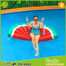 Inflatable Watermelon float Red/Green Lie-On Float Pool Lounge Floating Watermelon