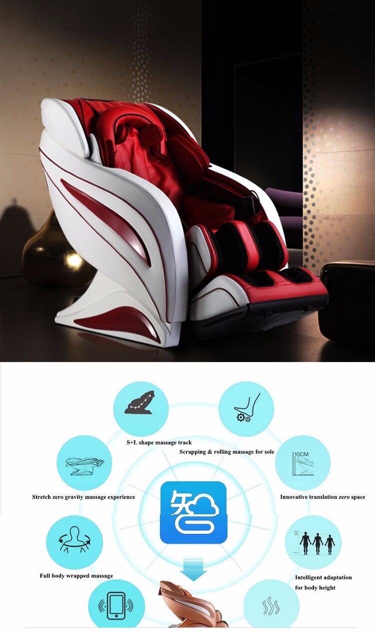 China Supplier Beauty Full Body Sensual Massage Chair 220V (RT-A09)