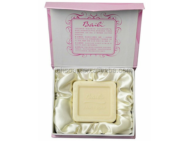 2019 Top Sale Baili Extra Whitening Fancy Soap Gift Soap