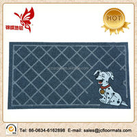 anti-frozen polyester velour emboss door mat roll