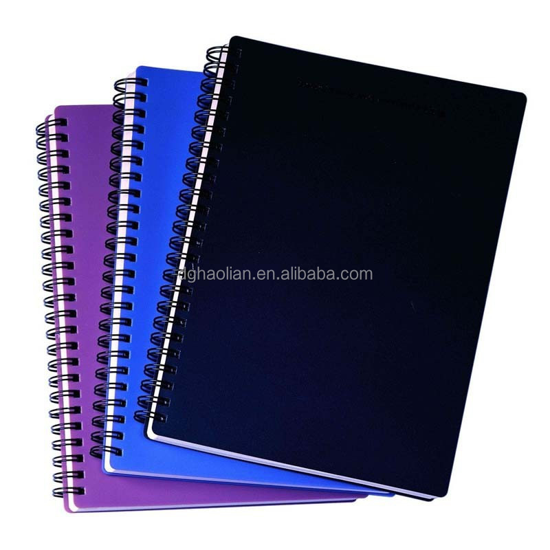 2015 a5 paper Spiral band Office supplies notebook bulk buy from China in dongguan haolian manufacturer