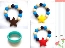Silicone Teething/Women Sex Animals Bracelets