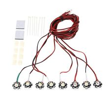 911011-High Power 3W Flight Simulated and Flashing Light System LED Light for RC Fixed-wing
