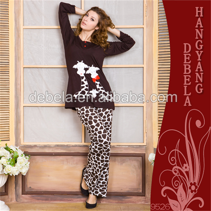 2017 newest super soft home wear winter long sleeve fleece pajamas, girls sexy women sleepwear set