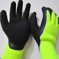 Latex Gloves Safety Winter Working Gloves