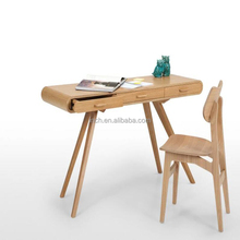 Scandinavian country style European pine wood writing desks