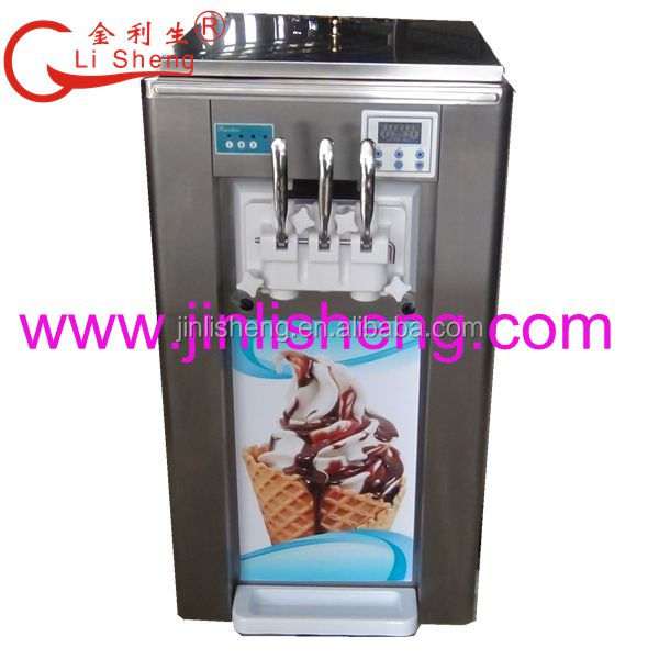 Jin Li Sheng BQ332A Low Noise Counter Top Mesin Soft Ice Cream