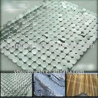 metalic mesh curtain/metallic cloth