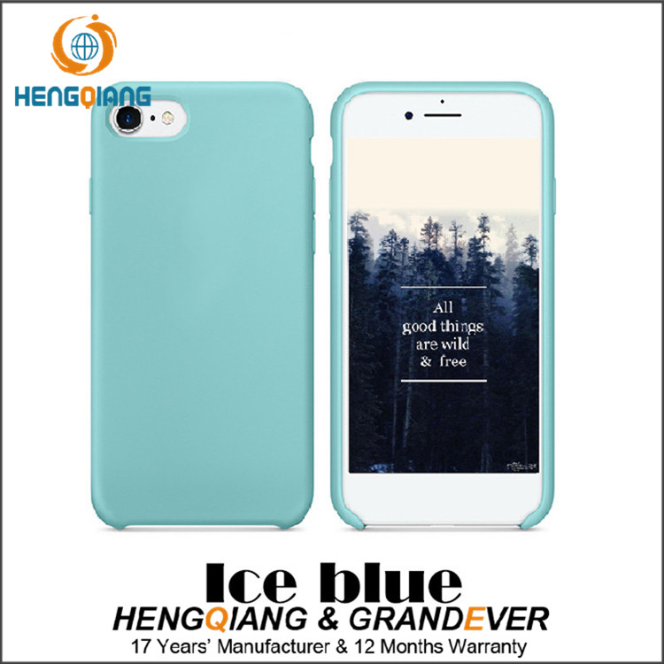 mobile phone case wholesale, for iphone 7 silicone case original
