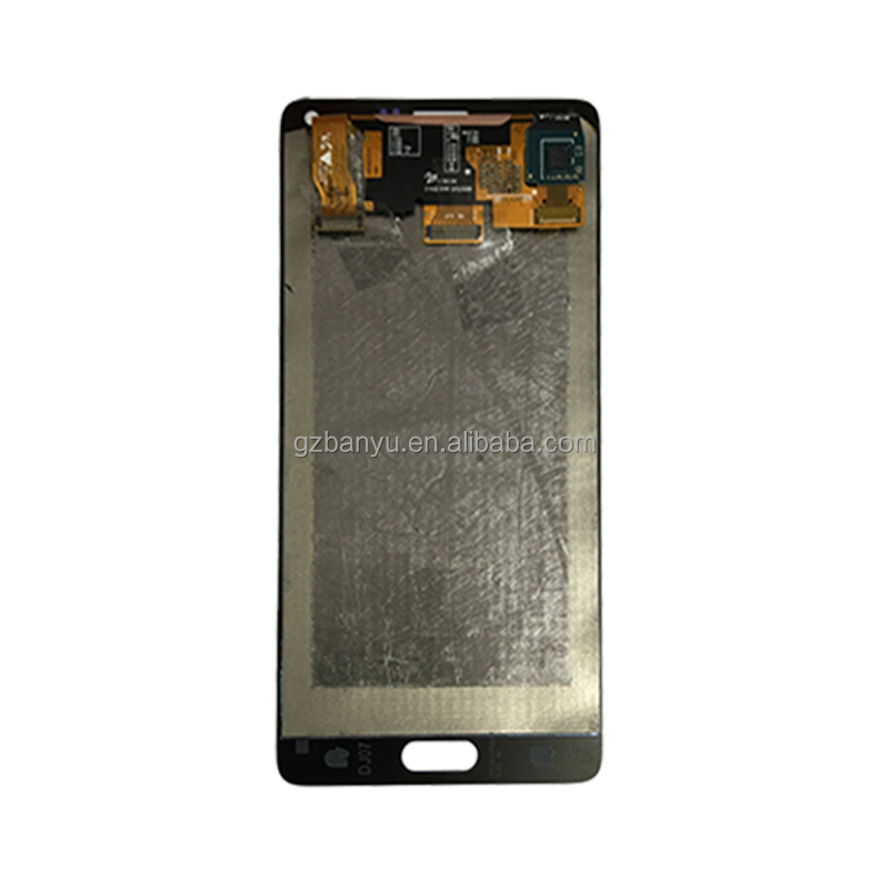 Original touch replacement assembly for samsung note 4 n9100 lcd screen