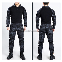 Kryptek Typhon Men Army Military Equipment Airsoft Paintball Shooting BDU Pants Combat Gen3 Tactical Frog Suit with Pants