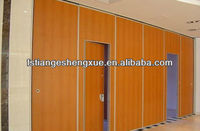 MDF room separating folding partition wall for room