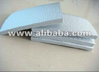 polyethylene foam insulation sheet with aluminum and adhesive