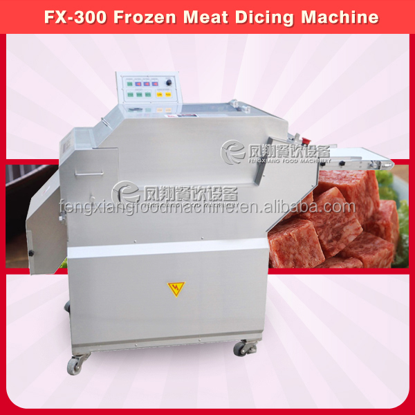 FX-300 High Quality Frozen Meat Cube Cutter Cutting Machine