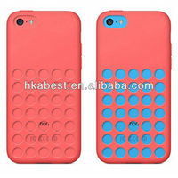 Hollow Dot Silicone Skin Cover For iPhone 5C,For iPhone 5C Silicon Case Official