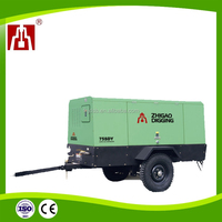ZEGA SPE 0.8-2.5Mpa High Enegy Saving Industrial Used Portable Screw Air Compressors For Mining