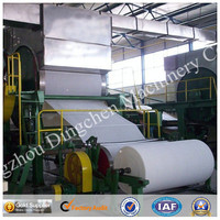 1092 mm toilet tissue paper napkin paper sanitary paper recycling plant