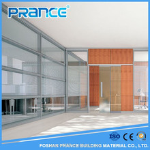 living room glass partition design/office partition glass wall