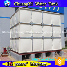 Excellent quality assembled frp panels tanks, frp fiberglass water pressure tank, Fiberglass insulated water tank