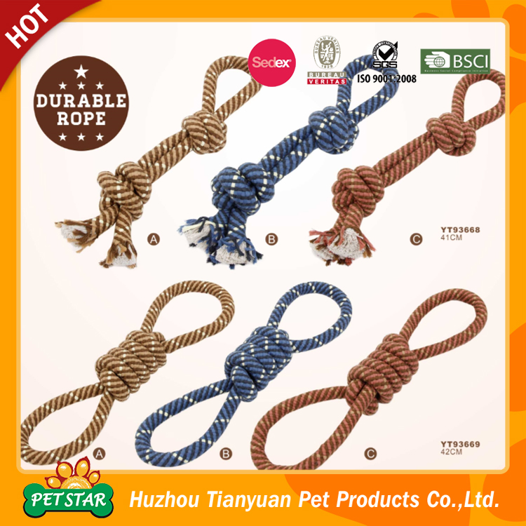 2017 Hot New Products Eco-friendly Rope Pet Toys Import