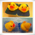 OEM manufacturer custom safe soft plastic squeaky cute duck vinyl toy for kid bath play