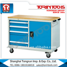 Factory Supply New Movable Modular Steel drawer workbench With Wheels