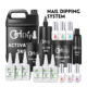 Dipping Powder Nail Liquid Glue System, brush cleaner, activator, prep/bond, base, gel top coat, 15ML/2OZ/4OZ REFILL