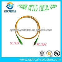 SM fiber optical patch cord FC/APC-SC/APC