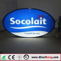 outdoor acrylic led plastic sign letters board samples