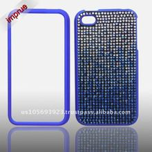 best price!! for Apple Iphone 4 & iphone 4s rhinestone crystal bling case with top quality,fast delivery
