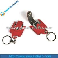 4GB 8GB Promotional Leather USB Pen Drive
