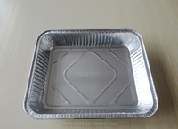 fast food packaging box house container disposable aluminium foil fast food container