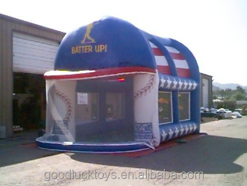 gaint inflatable batting cage/Sports Related Inflatables