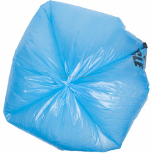 Modern Vest type colourful plastic garbage bags