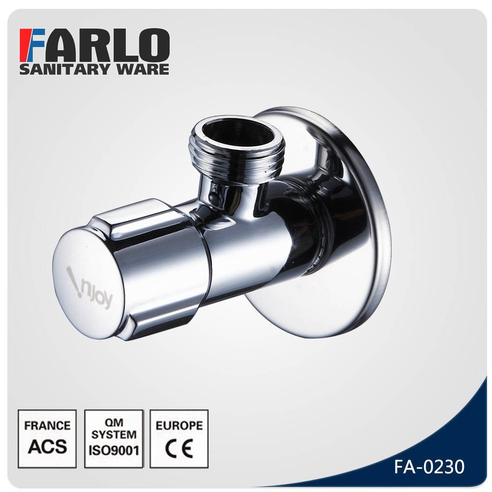 FARLO Strong and durable brass angle valve