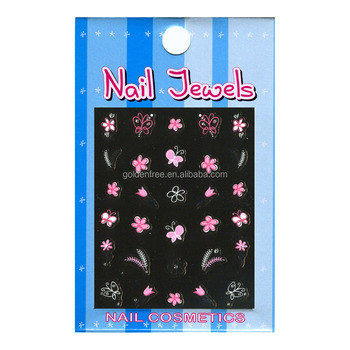 Gem Nail Art Stickers, Nail Decoration Stickers (ND-1213)