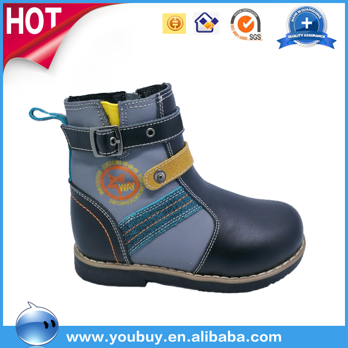 Imported leather natural comfort footwear horse riding boots shoes,boots kids shoes snow