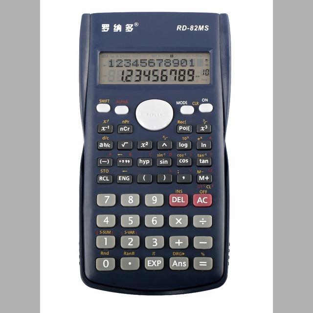 double display electronic scientific abs material scientific office supplies scientific calculator