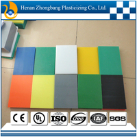 Customed high quality engineering plastics wear &corrosion resistant white uhmwpe plastic polyethylene 10mm sheet/board