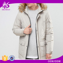 Shandao OEM fine quality long sleeve latest design winter alpaca coat for men