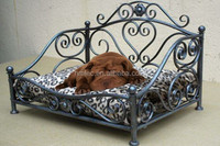 luxury wholesale metal dog bed