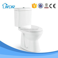 Chaozhou ceramic factory mass production two piece washdown toilet