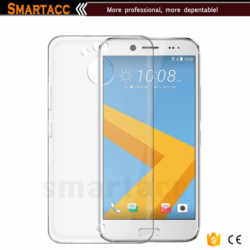 Scratch Resistant TPU Gel Rubber Soft Skin Silicone Protective Case Cover For HTC 10 Evo
