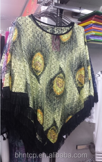 BHNPON1508 Girls poncho sweater available in stocklot