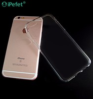 Transparent clear TPU case cover for iPhone6 mobile phone case