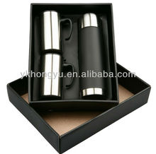 New design Promotion double wall 500ml vacuum flask 3pcs gift sets